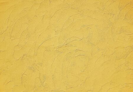 Yellow modern stucco texture