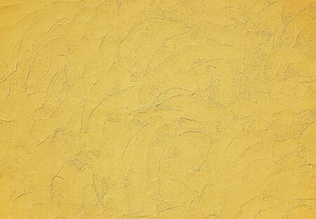 Yellow modern stucco texture