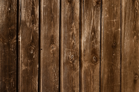 unpainted: Unpainted weathered wooden fence texture Stock Photo