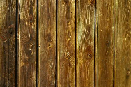 scorch: Unpainted weathered wooden fence texture Stock Photo