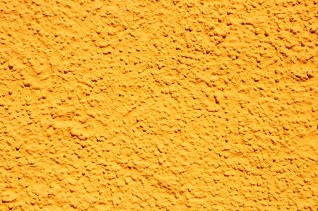 Yellow modern grainy stucco texture