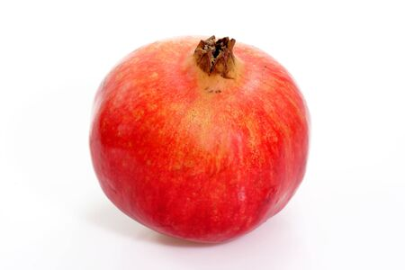 calories poor: Red grenadine with white background