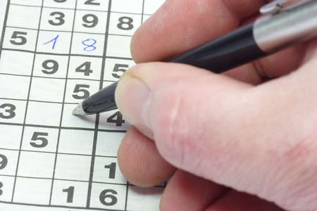 sudoku: Playing sudoku puzzle in detail.