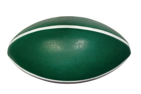 American football isolated on white background. Stock Photo - 3074765