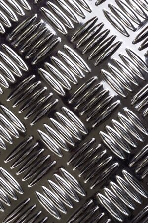 channeled: Close-up of a checkered sheet as background Stock Photo