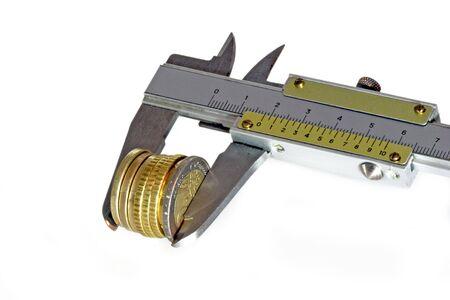 teknik: Precision measurement tool made of steel