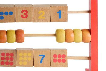 Wooden abacus isdolated on white background Stock Photo - 4177832