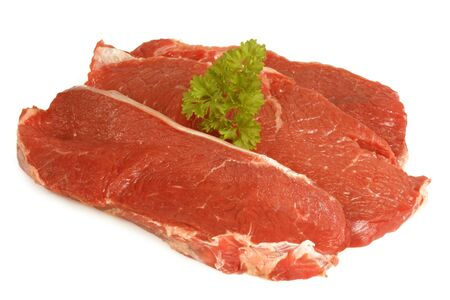 prime: A prime cut of a raw ribeye beef steak.