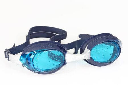 Swimming googles on bright background. Stock Photo - 4685658