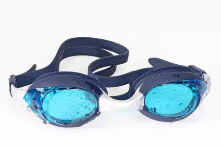 Swimming googles on bright background. Stock Photo - 4732553