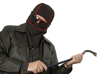 hijacker: Tema Penal - g�ngster con un estudio de cincel aislado
