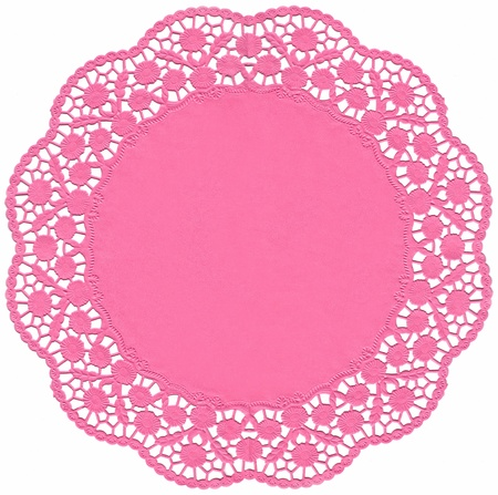Decorative lace  for Christmas, Valentines Day, holidays, scrapbooks, setting table & cake decorating.