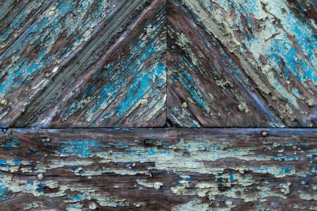 worn structure: Weathered wood with patina in detail as a background