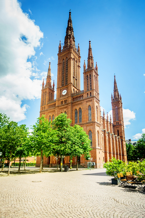 Marktkirche The oldest and largest Protestant church in Wiesbaden; built by Carl Boos as Nassauer Landesdom