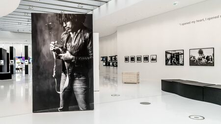 GERMANY, WETZLAR, 06 JULY 2019, Headquarters of the Leica Camera Company, opened in 2014, interior galleries
