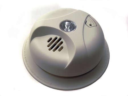 Isolated Smoke Detector photo
