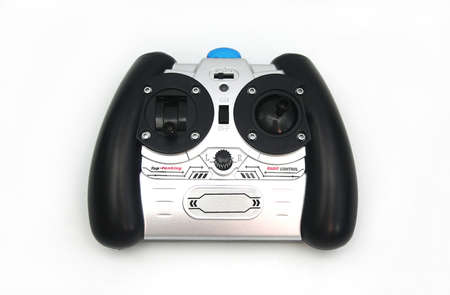 Toy RC Controller on White Background
