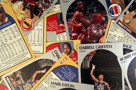 A Scattered Collection of Vintage Basketball Cards