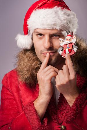 Gay Santa Claus is hiding a secret