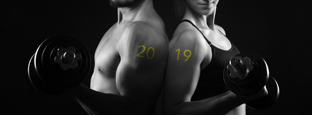 2019 - perfect male female upper body motivation new year