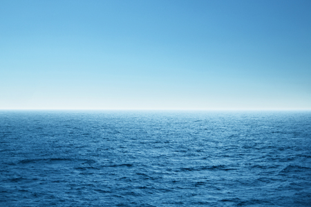 Blue open sea. Environment,travel and nature concept. Zdjęcie Seryjne