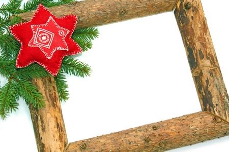 Karácsonyi háttér Stock fotó