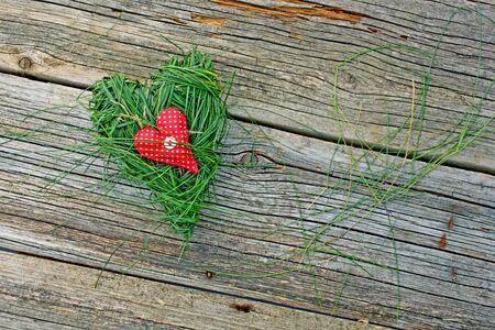 szív alakú zöld fű, fa bakcgrond