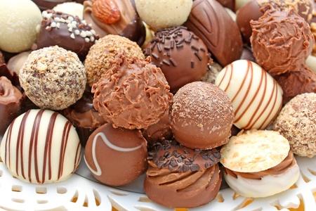 Különböző csokoládék