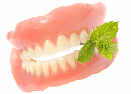 artificial teeth: dentures with melissa