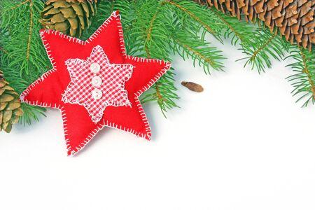 homemade red christmas ornament photo