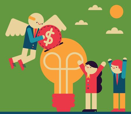 Angel Investor Ilustração