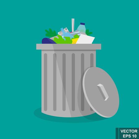 Verfügung. Recycling Müll. Urne. Für Ihr Design.