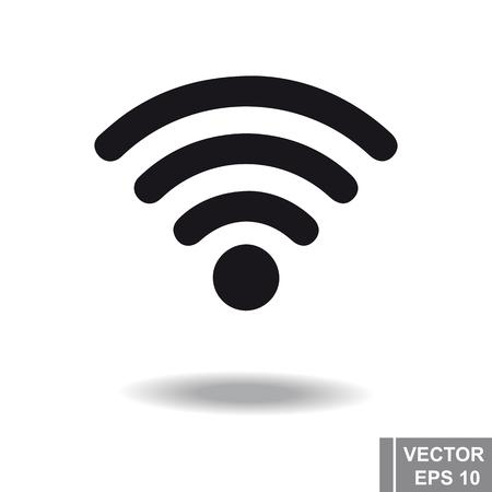 mobile communication: Black isolated on a white background Communication.