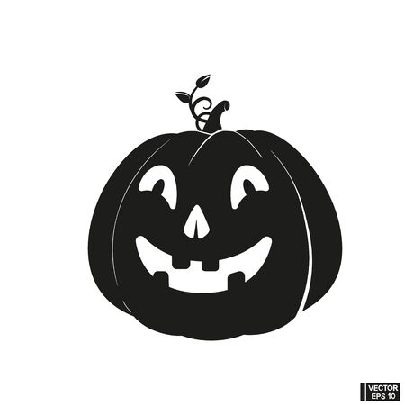 halloween related in vector format very easy to edit over white
