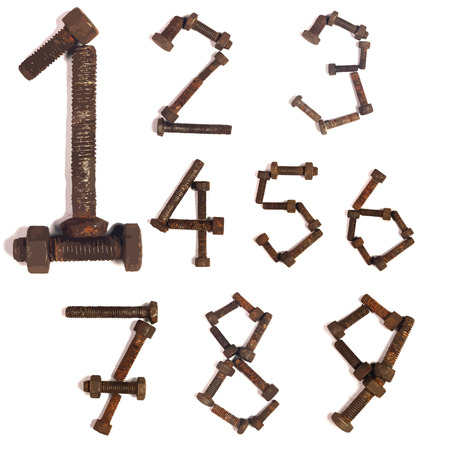 Vector rush bolt number group set. Vector