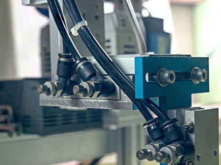 Ingresso tubo pnuematic alle apparecchiature robot, ingresso hanno il controllo di flusso.