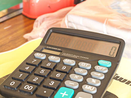 retail business: Calaulate by calculator in retail business. Hard work.