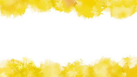 aquarelle painting art: Yellow watercolor background. Vector illustration