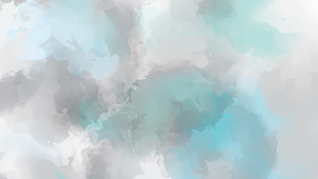 grey: Soft grey and blue watercolor background. Vector illustration Illustration