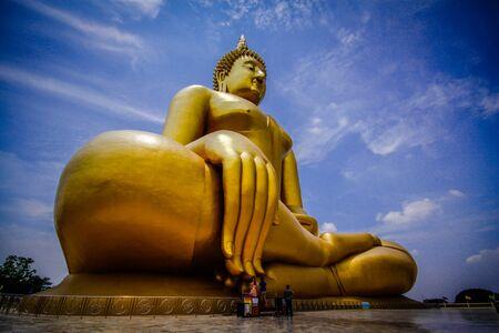 buddha image: big buddha image