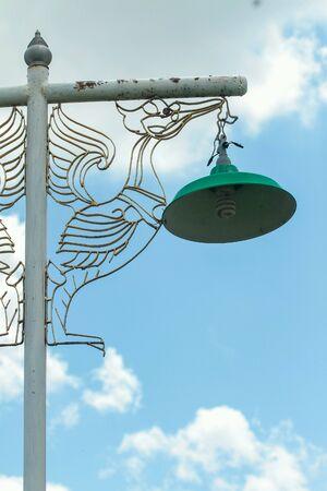 iron: Lamp pole