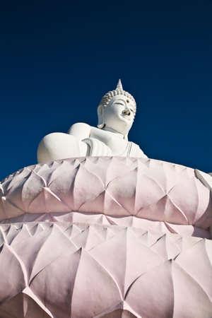 The Buddha statue at Petchaburi , Thailand photo