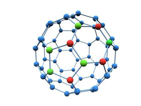 Logotype colour molecule photo