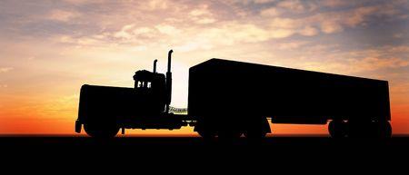 barco petrolero: Camiones  Foto de archivo