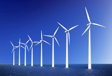 water turbine: Wind