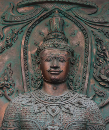divinity: god statue
