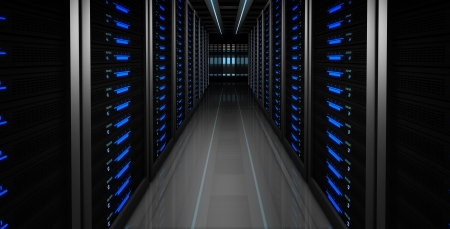 computer center: Servers