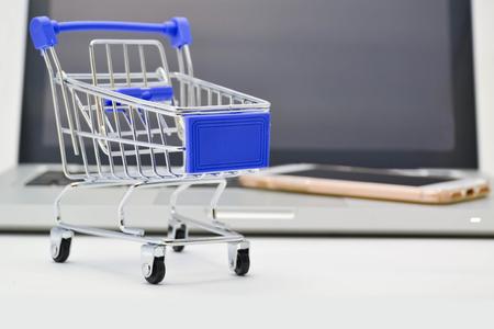 Internet shopping concept photo