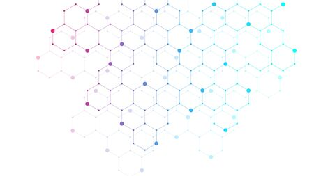 Hexagons abstract background with geometric shapes. Science, technology and medical concept. Futuristic background in science style. Graphic hex background for your design. Vector illustration.