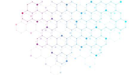 Hexagone abstrakter Hintergrund mit geometrischen Formen. Wissenschaft, Technologie und medizinisches Konzept. Futuristischer Hintergrund im Wissenschaftsstil. Grafischer Hexhintergrund für Ihr Design. Vektor-Illustration.